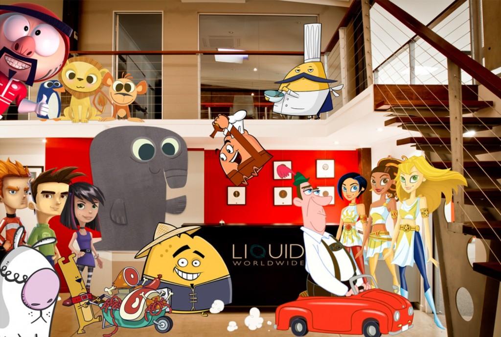 Studio with Characters